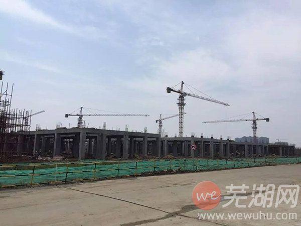 芜湖国购汽贸物流园2017年6月工程进度播报