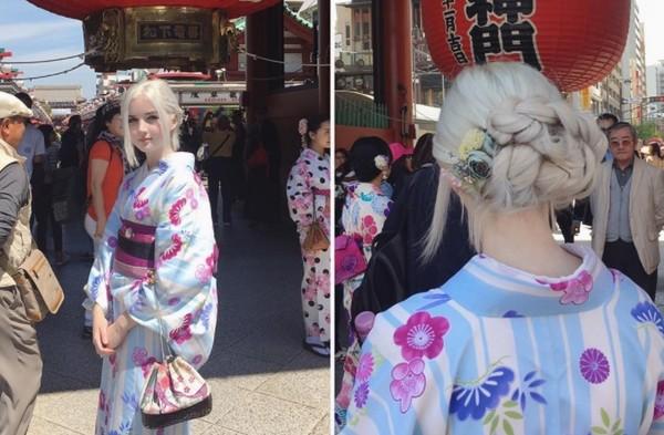 ▲▼Icy在日本的照片引起众多讨论。(图/翻摄自Instagram/nordic_alien_)