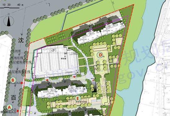 蕪湖沈百南路東側地塊規劃建筑設計方案批前公示
