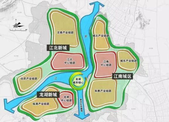 芜湖龙窝湖地区总体规划启动,三山未来令人期待!