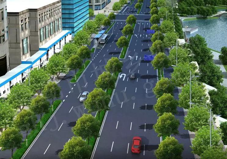 芜湖黄山中路即将改造成双向七车道