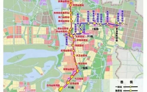首个轻轨车站即将完工,芜湖人离轻轨出行又近了一步...