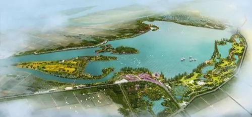 最新!龙窝湖地区总体规划(含一期湿地公园建设)