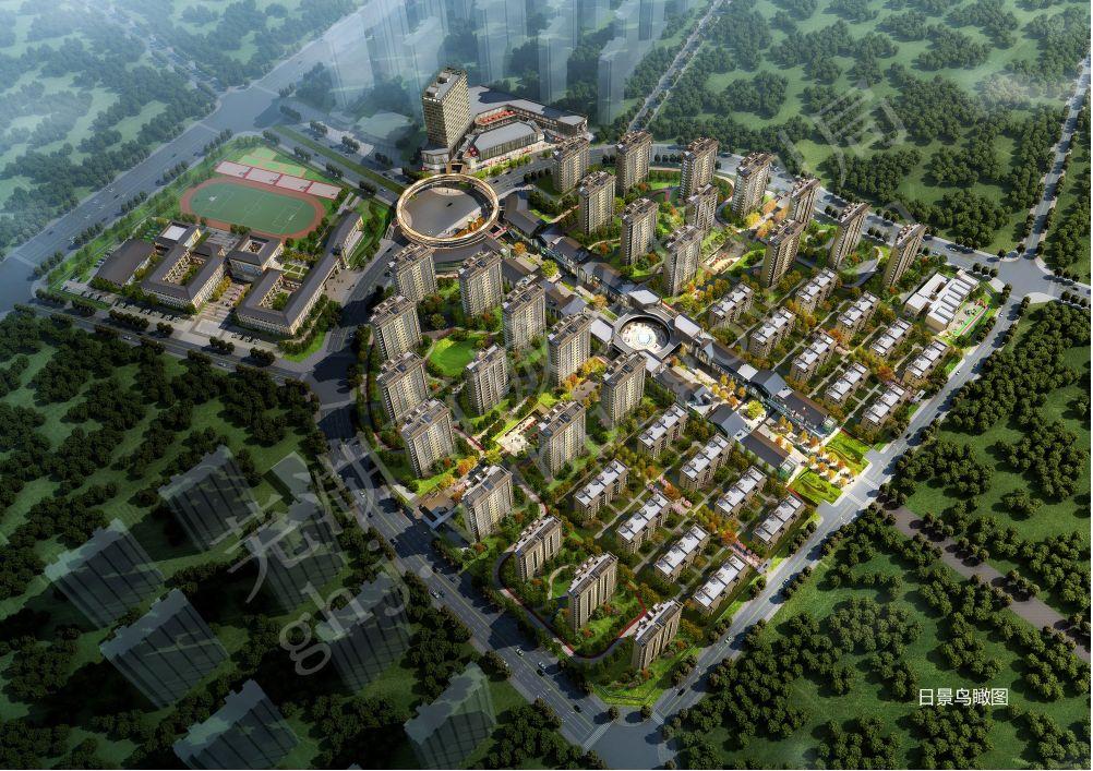 芜湖城南纯新盘中御公馆规划方案出炉