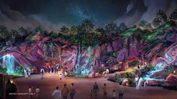 """▲▼東京迪士尼海洋將擴建第8個主題園區""""Fantasy Springs""""。"""