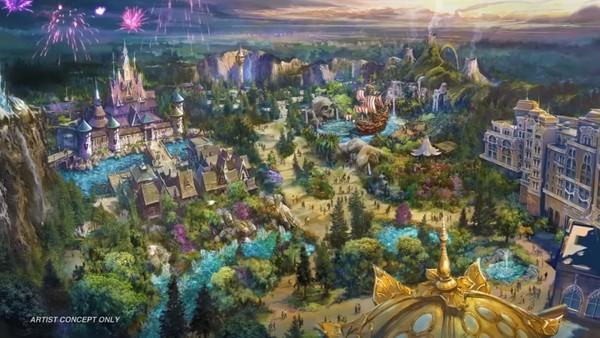 ?東京迪士尼海洋建第8主題園區 4大設施預計2022開放