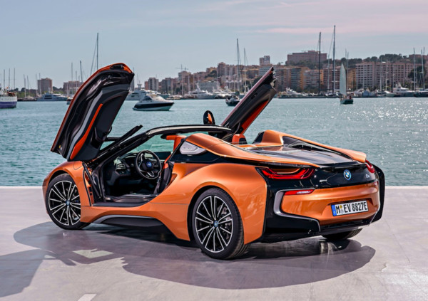 ▲下1代BMW i8将改为纯电动车?(图/翻摄自BMW)