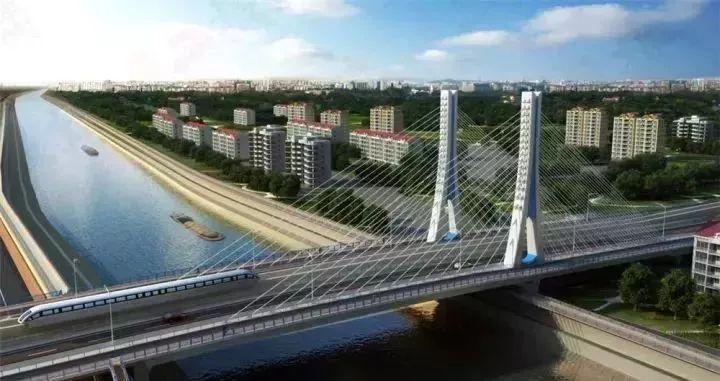 芜湖新中江桥最新进展,预计2019年8月通车!_We芜湖