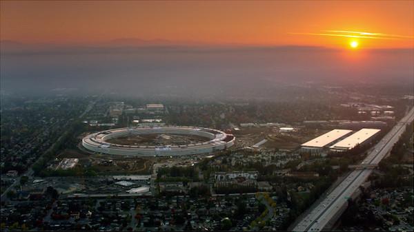 """全球最贵建筑!苹果宇宙飞船总部估值41.7亿美元 """"几乎全部定制化"""""""