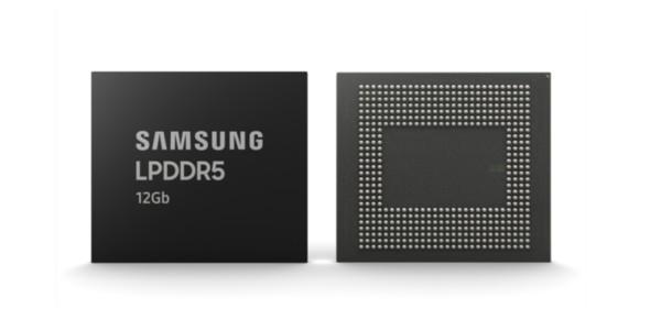 """三星宣布推出12Gb LPDDR5 DRAM """"12部高清影片""""秒下载!"""