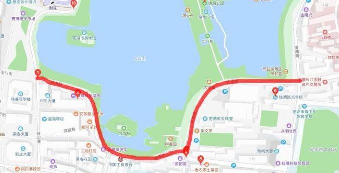 芜湖二街这条路段将恢复双向通行!交通又有新调整!