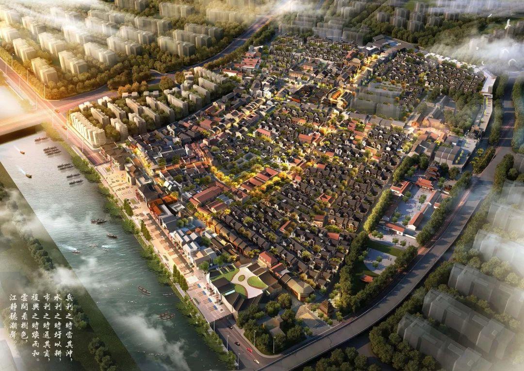 芜湖古城最新设计大图曝光,江城的喧嚣记忆正在喧嚣绽放!