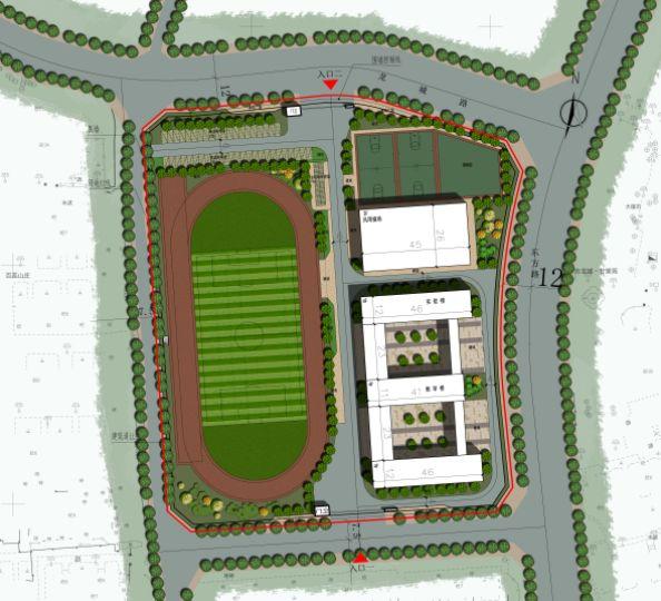 蕪湖市東方龍城10-2#地塊規劃小學方案設計批前公示
