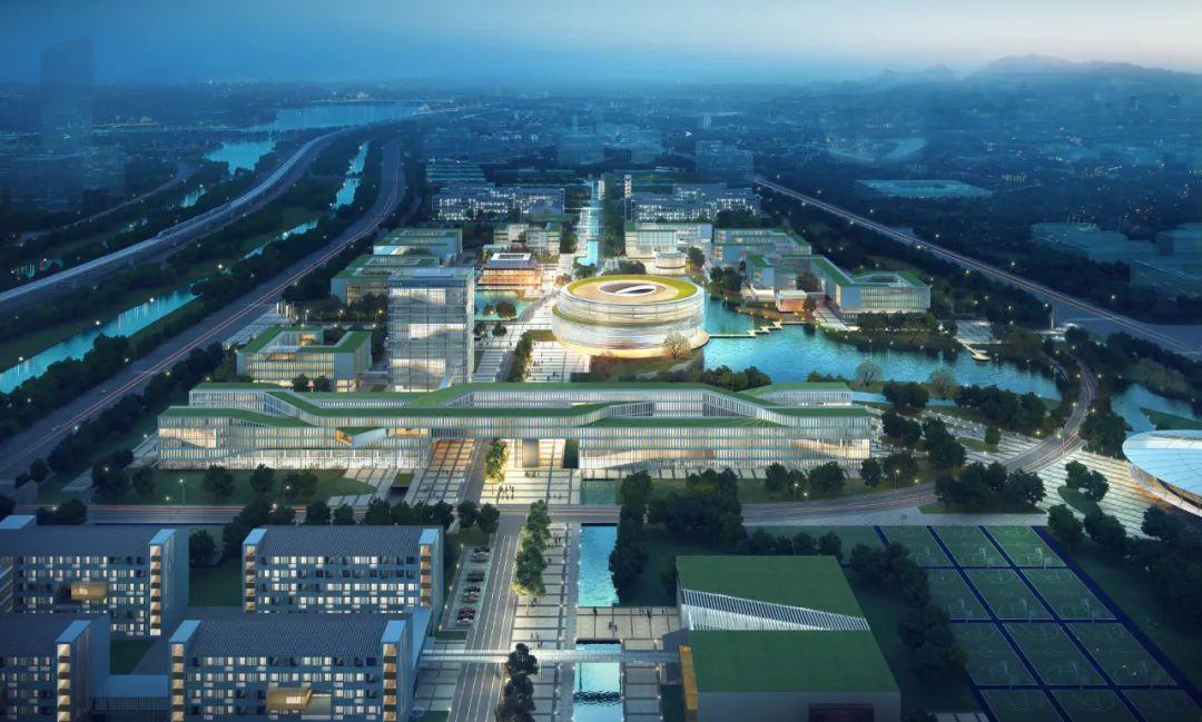 南京信息工程大學金牛湖產教融合園區(金牛湖校區)正式開工奠基